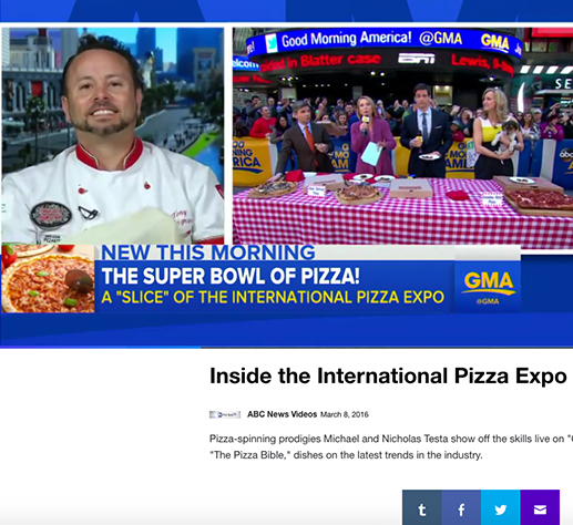 Good Morning America: the Super Bowl of pizza