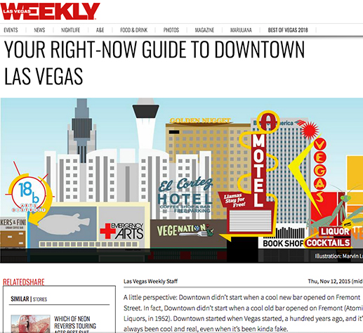 Las Vegas Weekly: Guide to Downtown