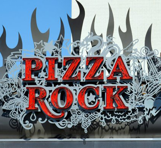Pizza Rock sign
