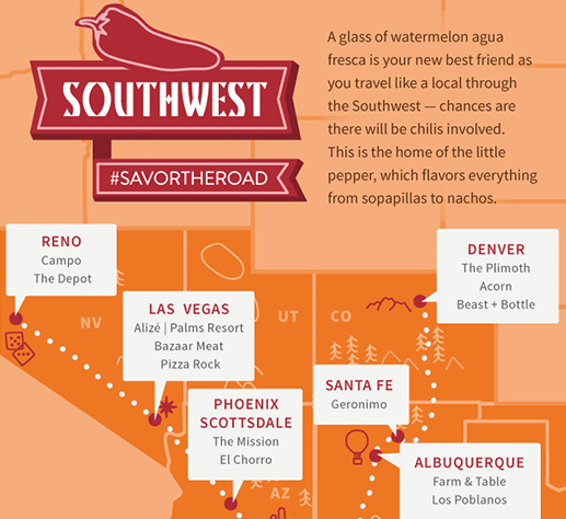 Southwest: Best of the SOuthwest