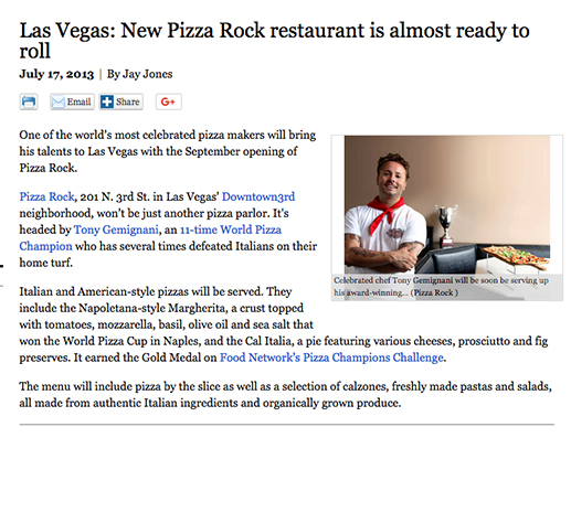 Pizza Rock is ready to roll!