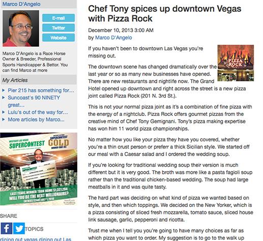 Tony Gemignani shakes up Las Vegas