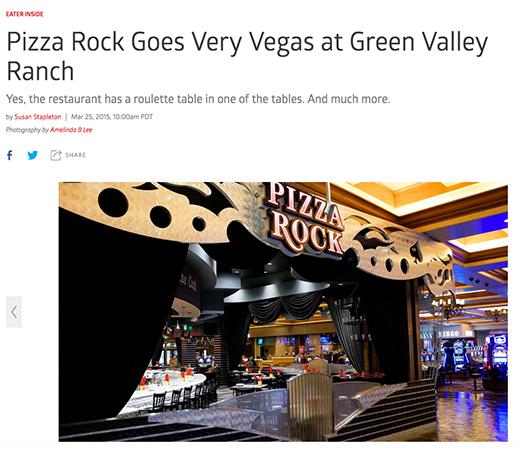 Pizza Rock Goes Vegas