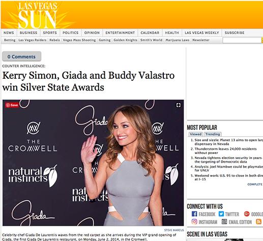 Las Vegas Sun: Silver State Awards