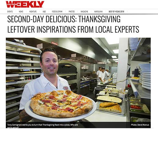 Las Vegas Weekly: Thanksgiving leftovers!
