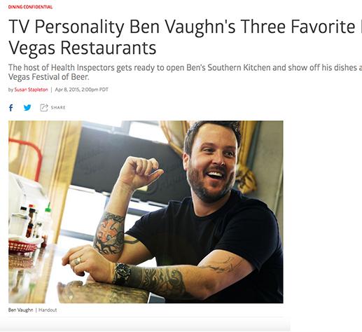 Three favorite Las Vegas restaurants