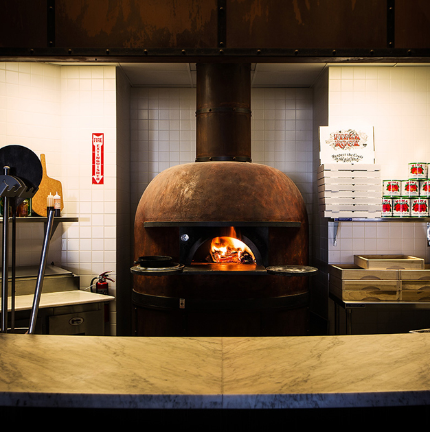 Pizza Rock wood oven