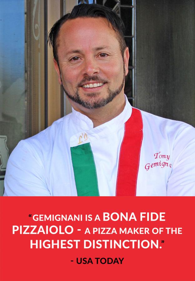 Tony Gemignani - Award Winning Pizza Chef