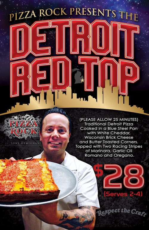 NEW DETROIT RED TOP