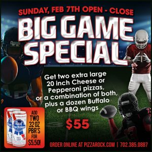 Big Game Special