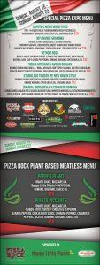 Pizza Expo Menus